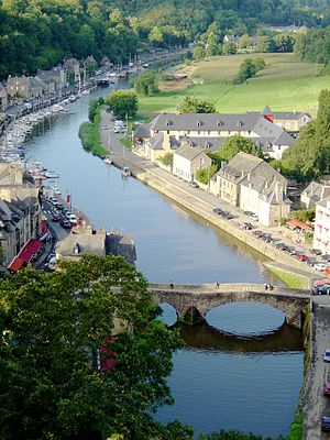 Rance (river) - The Rance in Dinan.