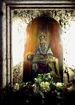 Dipinto della madonna della Corona