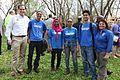 Director Dan Ashe and Refuge Chief Cynthia Martinez with SCA interns (26088805981).jpg