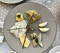 Dishes at Szara Restaurant, Old Town Market Square, Kraków, Poland, 02.jpg
