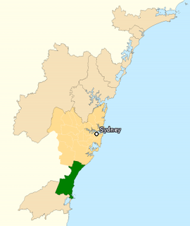 Division of Cunningham Australian federal electoral division