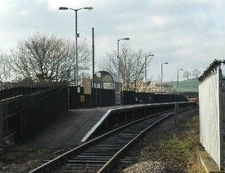 Dodworth railway station Railway station in South Yorkshire, England