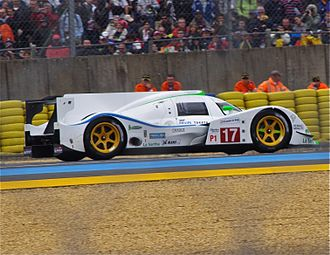 Sébastien Bourdais - The Dome S102.5 that Bourdais drove at the 2012 24 Hours of Le Mans.