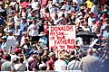 Donald Trump supporters & protesters (25953775165).jpg