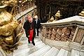 Donald and Melania Trump tour St. Peter's Basilica in Vatican City, May 2017.jpg