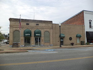 Donalsonville, Georgia - Donalsonville City Hall