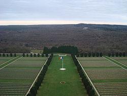 Douaumont Ossuary cemetery.JPG