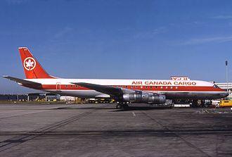 Air Canada Cargo - An Air Canada Cargo Douglas DC-8 in 1978