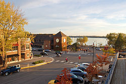 Downtown Wayzata, October 2011