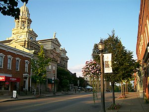 St. Clairsville, Ohio - Downtown