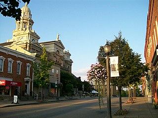 St. Clairsville, Ohio City in Ohio, United States