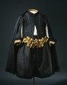 Dräkt med svart rips som tillhört Karl X Gustav - Livrustkammaren - 82278.tif