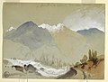 Drawing, Alpine Pass at Cascade, Twin Lakes, Colorado, 1892 (CH 18189893).jpg