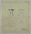 Drawing, Table with Removable Tray-top in Painted Metal, February 1935 (CH 18205147).jpg