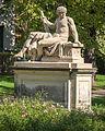 Dresden Blüherpark Skulptur Herakles , Thaddäus Ignatius Wiskotschill, um 1780.jpg