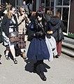 Dressed in black and blue, Elfia 2013 Haarzuilens (9902989823).jpg