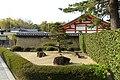 Dry garden - Hōryū-ji - Ikaruga, Nara, Japan - DSC07594.jpg