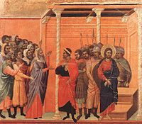 Duccio di Buoninsegna - Christ Accused by the Pharisees - WGA06801.jpg