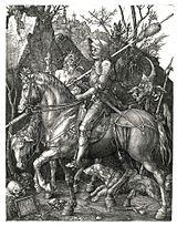 Duerer - Ritter, Tod und Teufel (Der Reuther).jpg