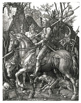 Image illustrative de l'article Le Chevalier, la Mort et le Diable