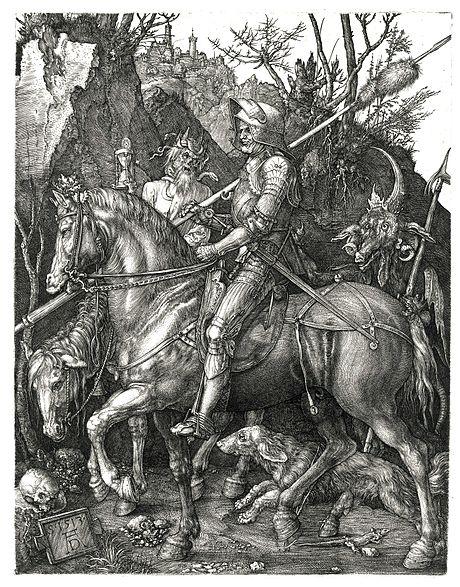Archivo:Duerer - Ritter, Tod und Teufel (Der Reuther).jpg