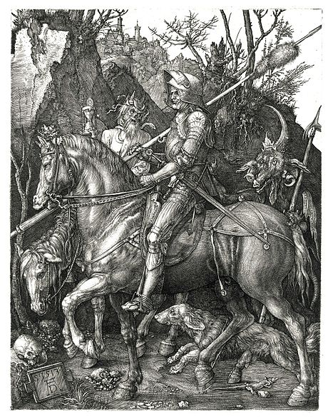 Ficheiro:Duerer - Ritter, Tod und Teufel (Der Reuther).jpg