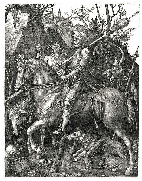 File:Duerer - Ritter, Tod und Teufel (Der Reuther).jpg