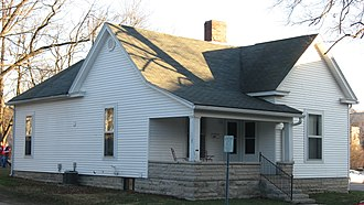 Hoagy Carmichael - Carmichael's house in Bloomington, Indiana (2011)