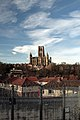 Durham Cathedral from the east.jpg