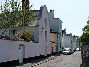"Dutch brick - ""Dutch Houses"", Topsham, Devon, England"
