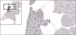 Vị trí của Enkhuizen