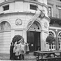 Dwergwalvis van 7 meter opgezet in de opslagplaats van het Zoologisch Museum te , Bestanddeelnr 914-3710.jpg