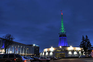Poznań International Fair - View at the Iglica (Hall 11)