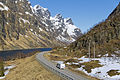 E10 road (Lofast) at Ingelsfjorden, Hadsel, Nordland, Norway, 2015 April - 2.jpg