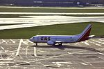 EAS 737-300 F-GFUB at MAN (29752490155).jpg