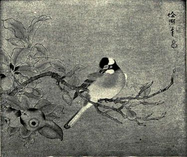 EB1911 China - Hsü Hsi - Bird on Apple-bough.jpg
