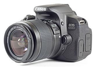 Canon EOS 650D - Image: EOS 650D