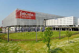 Eurovision Song Contest 2011 - Esprit Arena, Düsseldorf – host venue of the 2011 contest.