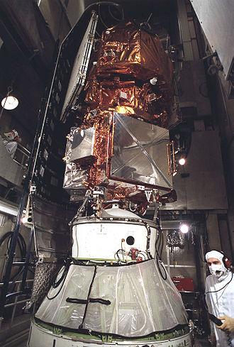Extreme Ultraviolet Explorer - The Extreme Ultraviolet Explorer Spacecraft prior to launch