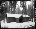 EXTERIOR, LOOKING SOUTH - Camp Kaweah Historic District, Office-Warehouse, Three Rivers, Tulare County, CA HABS CAL,54-GIFO,1-F-4.tif