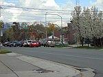 East at SR-113 & US-40 US-189 junction in Heber City, Utah, Apr 16.jpg