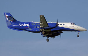 Regional airline - British Aerospace Jetstream 41 of the UK regional airline Eastern Airways