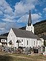 Ebene Reichenau Pfarrkirche hl Martin und Friedhof 09122015 9469.jpg