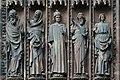 Ebrasement gauche porte centrale portail ouest cathedrale de Strasbourg.jpg