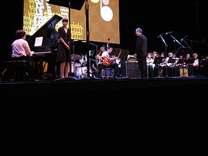 Eckstein Middle School Jazz Band performing at...