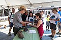 Eclipse weekend in Craters of the Moon - Visitor Center (2) (36882035036) (2).jpg