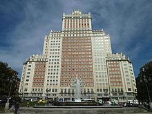 Arquitectura de madrid wikipedia la enciclopedia libre for Arquitectura franquista