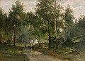 Edvard Bergh - Beneath the Birches. Motif from Mälaren - KMS869 - Statens Museum for Kunst.jpg