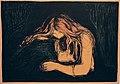 Edvard Munch. Vampire II (Vampyr II). 1895-1902 (25049240206).jpg