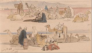 Near Suez, 1 pm, 16 January 1849 (48)